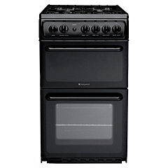 Hotpoint HAG51K Black Gas Cooker