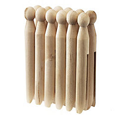 Tu Wooden Dolly Pegs 12-pack