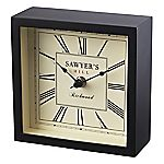 Tu Black Mantle Clock