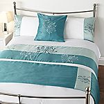 Tu Agapanthus Bed in a Bag - includes Duvet Cover, Pillowcase, Runner and Cushion Cover