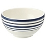 Tu Coastal Stripe Cereal Bowl