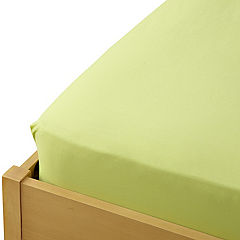Tu Soft Lime Non-iron Fitted Sheet