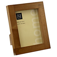 Tu Solid Dark Wood Frame 6x8""