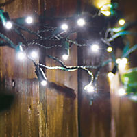 Sainsbury's 20 White Solar String Lights