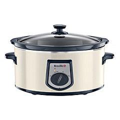 Breville VTP118 6L Cream Slow Cooker