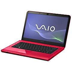 "Sony Vaio Vpcca2z0e Intel Core I5-2410m Processor 4gb/320gb 14"" Red Laptop"