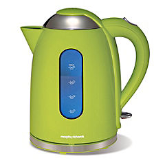 Morphy Richards Lime Green Accents Kettle