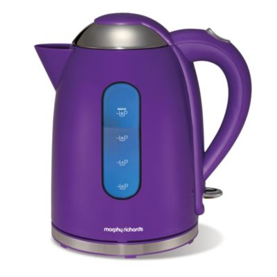 Morphy Richards Purple Coffee Maker : View more images