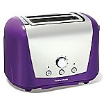 Morphy Richards Purple Accents 2-slice Toaster
