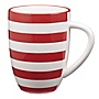 Tu Strada Striped Mug Red