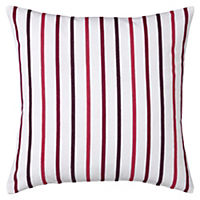 Tu Pink & Purple Stripe Cushion Cover
