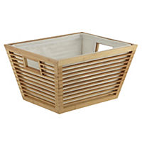 Sainsbury's Medium Bamboo Basket