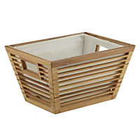 Sainsbury's Small Bamboo Basket