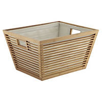 Sainsbury's Large Bamboo Basket