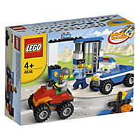 LEGO Bricks & More Police Building Set