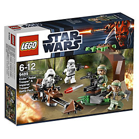 LEGO Star Wars Endor Rebel Trooper & Imperial Trooper