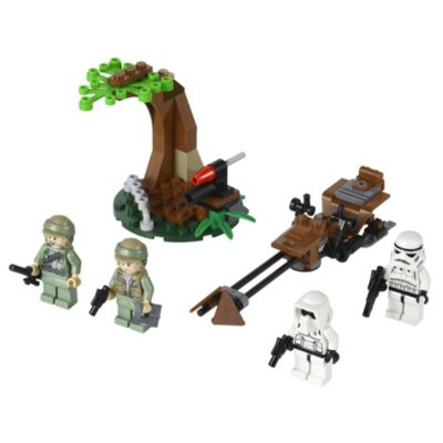 LEGO Star Wars Endor Rebel Trooper & Imperial Trooper - image 2
