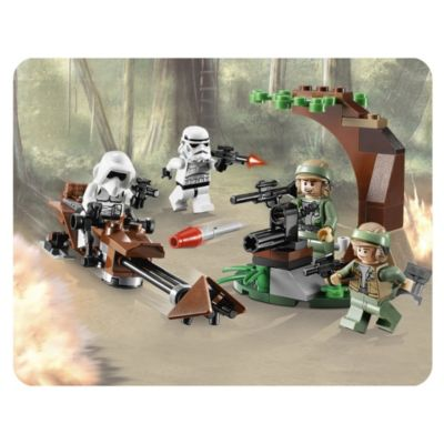 LEGO Star Wars Endor Rebel Trooper & Imperial Trooper - image 3