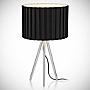 Tu Black Tripod Table Lamp