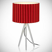 Tu Red Tripod Table Lamp