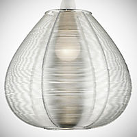 Tu Silver Wire Easy Fit Pendant Shade