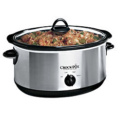 Crock-Pot 6.5L Chrome Slow Cooker