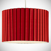 Tu Red Pleated Shade