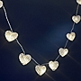 Tu Wicker Heart 16 String Lights