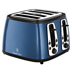 Russell Hobbs 18665 Blue Heritage 4 slice Toaster