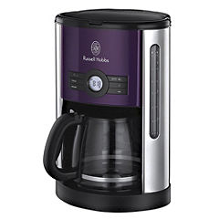 Russell Hobbs 18499 Heritage Digital Coffee Maker Purple