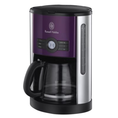 Russell+Hobbs+18499+Heritage+Digital+Coffee+Maker+Purple