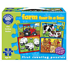 Orchard Toys Farm Four-in-a-Box Puzzle