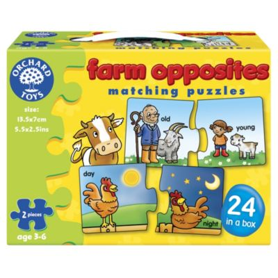 Orchard Toys Farm Animal Opposites - image 1