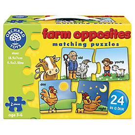 Orchard Toys Farm Animal Opposites