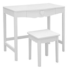 Hearts Dressing Table and Stool
