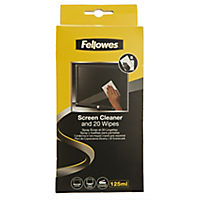 Fellowes Cleaning Wipes 25-pack