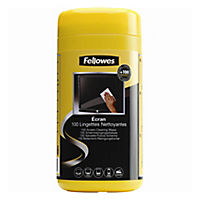 Fellowes Cleaning Wipes Tub 100-pack