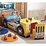 Jeep Toddler Bed with Desk