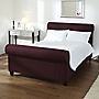Chelsea Scroll Plum Kingsize Bedstead