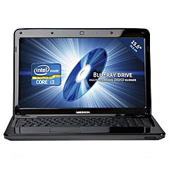 Medion Akoya E6221 Intel Core i3 2350M 4GB 320GB 15.6 Blu ray Notebook