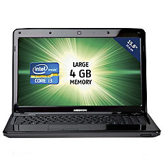 Medion Akoya E6221 Intel Core i3 2350M 4GB 320GB 15.6 Notebook
