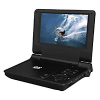 Red DVD7077SUK Portable DVD Player