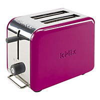 Kenwood kMix Boutique Pink 2-slice Toaster