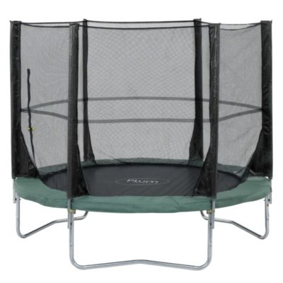 Plum 8ft Space Zone Trampoline and 3G Enclosure - image 1