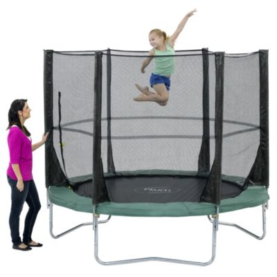 Plum 8ft Space Zone Trampoline and 3G Enclosure - image 2