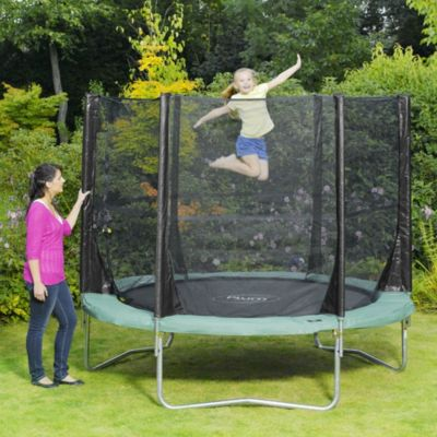 Plum 8ft Space Zone Trampoline and 3G Enclosure - image 3