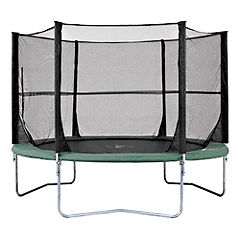 Plum 10ft Space Zone Trampoline and 3G Enclosure