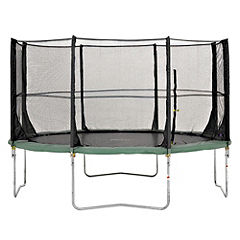 Plum 12ft Space Zone Trampoline and 3G Enclosure