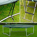 Plum 10ft Trampoline Kit