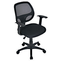 LEVV Yale Black Office Chair